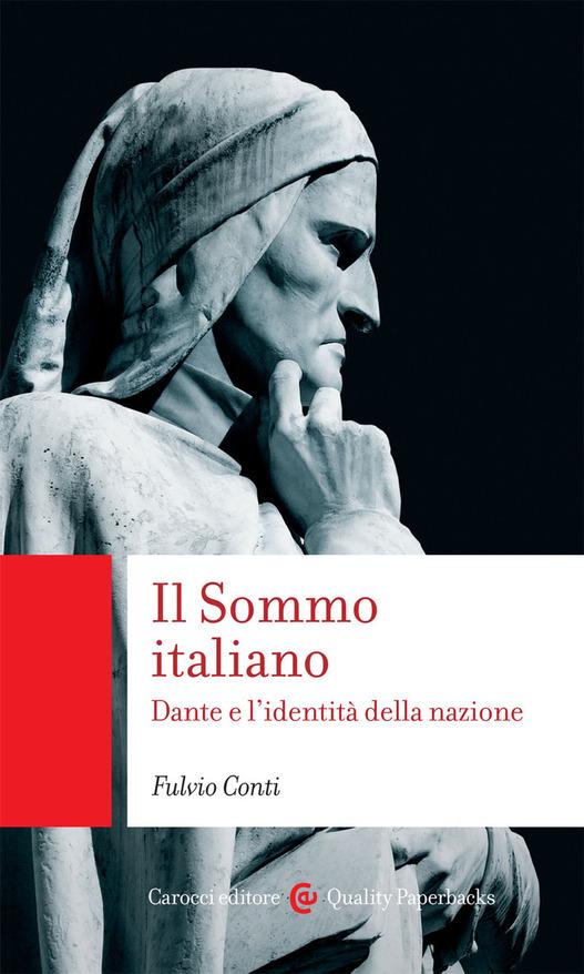 copertina libro con statua di Dante