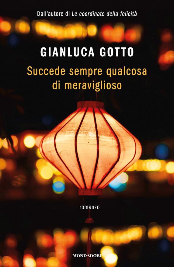 copertina libro con lanterne di notte